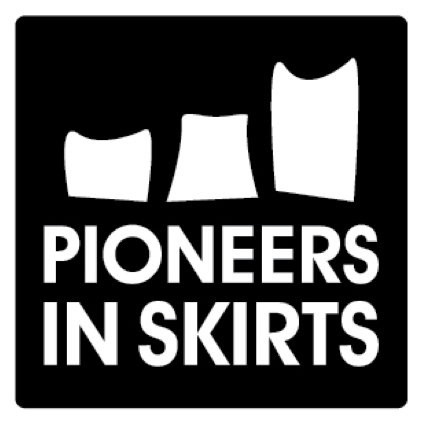 Pioneers in Skirts Logo